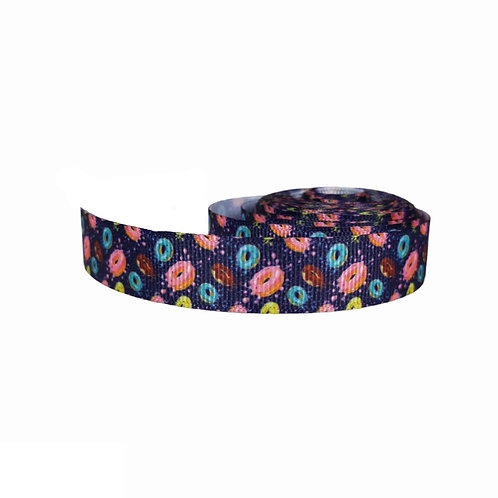 19mm Wide Space Donuts Double Ended Lead