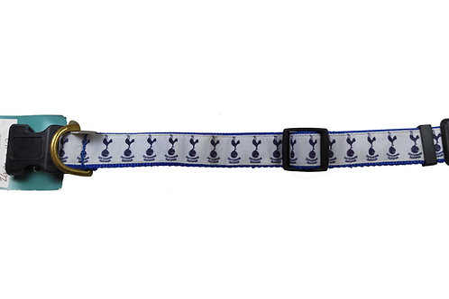 25mm Wide Tottenham Hotspurs Dog Collar