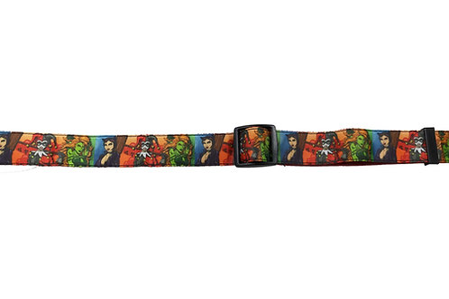 25mm Wide Gotham City Sirens Dog Collar
