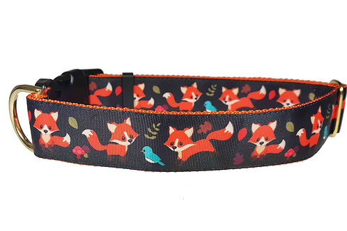 38mm Wide For Fox Sake Dog Collar