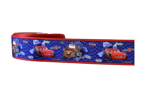 25mm Wide Cars Dog Collar