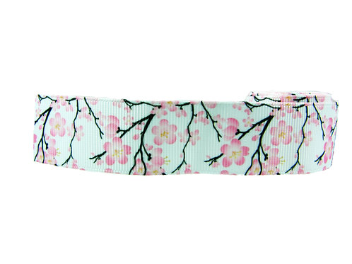 25mm Wide Cherry Blossom Martingale Collar