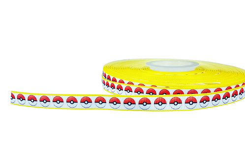 12.7mm Wide Pokeballs Double Ended Lead