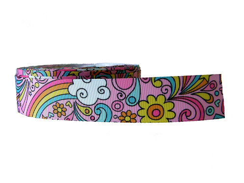 25mm Wide 70's Style Double Ended Lead