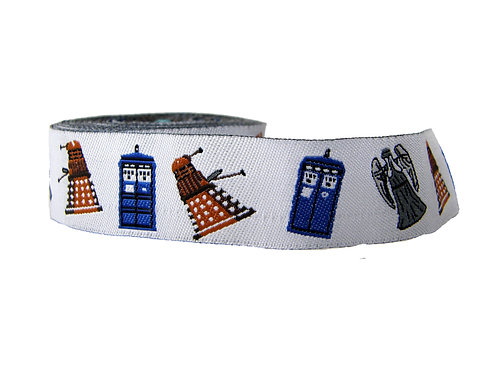 25mm Wide Dr Who Double Ended Lead