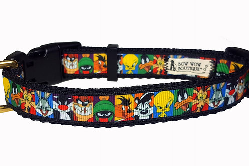 19mm Wide Looney Tunes Collar