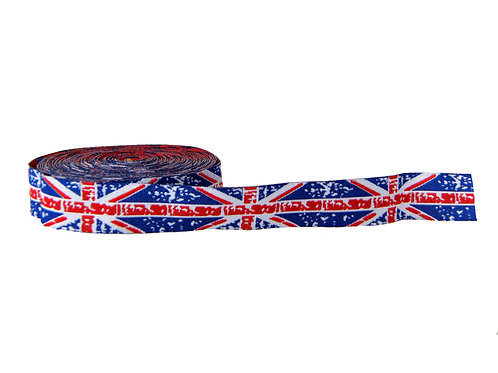 19mm Wide Union Jack Double Ended Lead