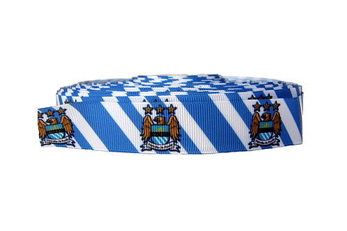 25mm Wide Manchester City FC Double Ended Lead