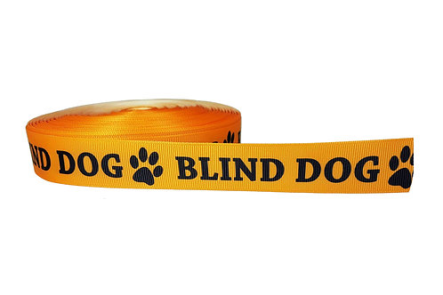 25mm Wide Blind Dog Martingale Collar