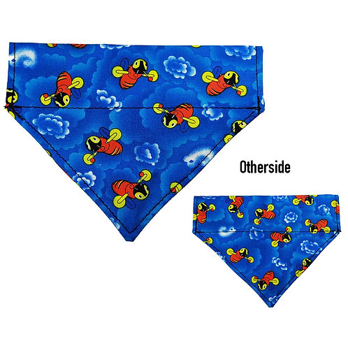 Medium Buzzy Bee Bandana