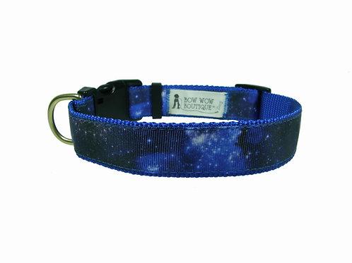 25mm Wide Galaxy Dog Collar