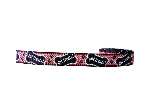19mm Wide Got Treats Martingale Collar