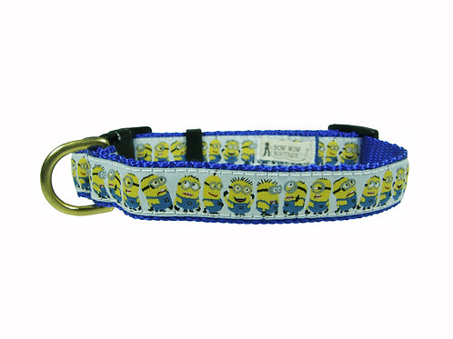 19mm Wide Minions Dog Collar