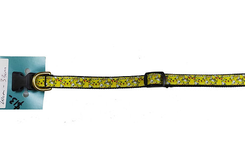 12.7mm Wide Pikachu Dog Collar