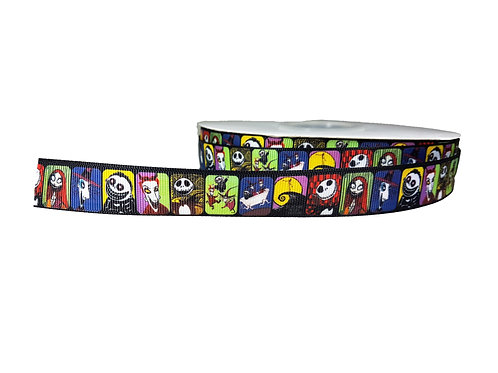 19mm Wide Nightmare Before Christmas Double Ended Lead