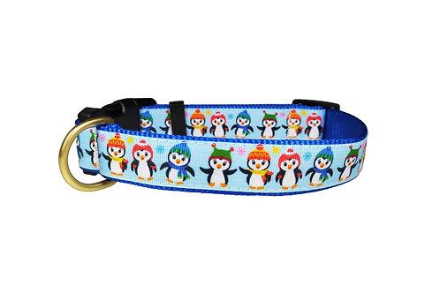 25mm Wide Penguins Dog Collar