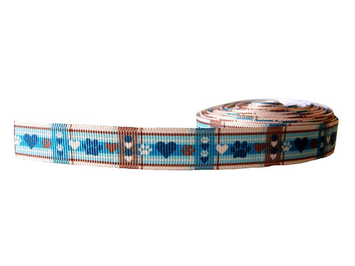 19mm Wide Puppy Picnic Martingale Collar