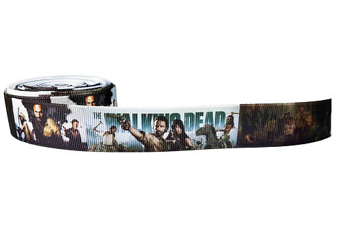 25mm Wide The Walking Dead Dog Collar