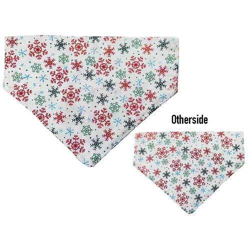 Small Snowflakes Bandana