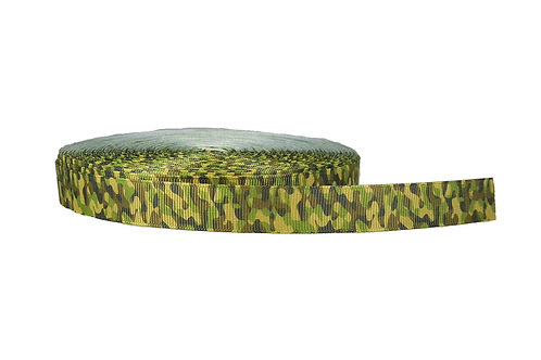 19mm Wide Green Camo Collar