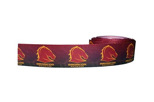 25mm Wide Broncos Dog Collar