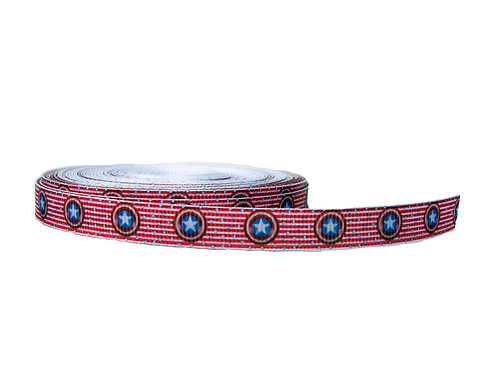 12.7mm Wide Captain America Double Ended Lead