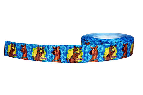 25mm Wide Scooby Doo Groovy Double Ended Lead