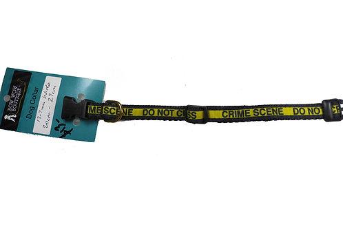 12.7mm Wide Crime Scene Dog Collar