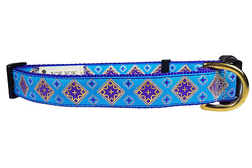 25mm Wide Purple Egyptian Dog Collar