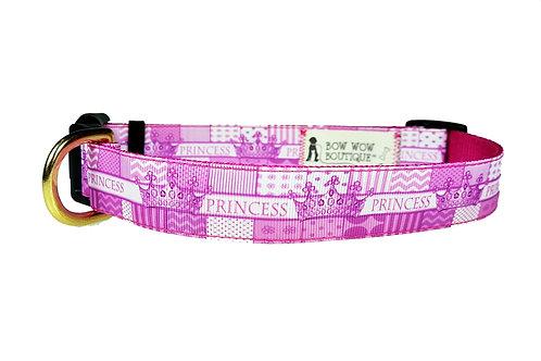 25mm Wide Princess Dog Collar