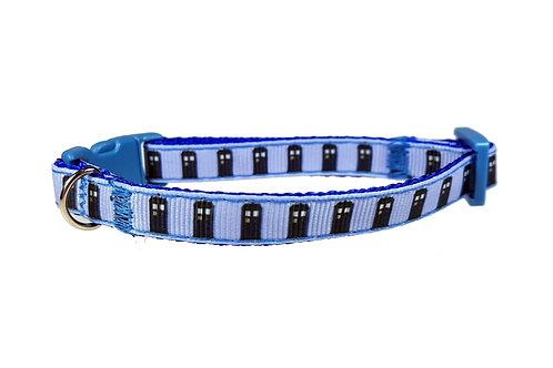 Dr Who Tardis Cat Collar