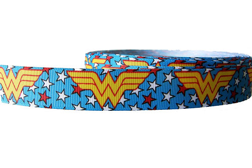 25mm Wide Wonder Woman V2 Martingale Collar