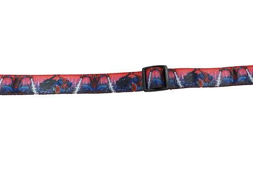 25mm Wide Spiderman V Venom Dog Collar