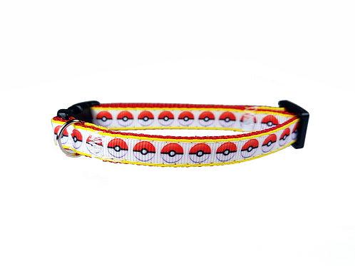 Pokeball Cat Collar