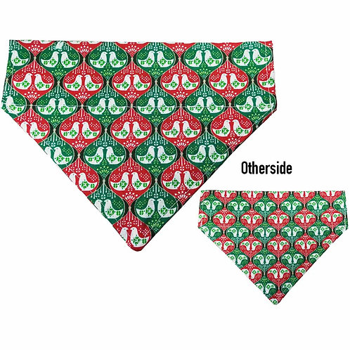 Medium 2 Turtle Doves Bandana