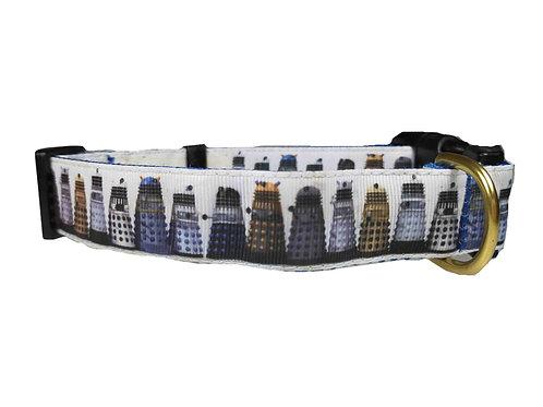 25mm Wide Daleks Dog Collar