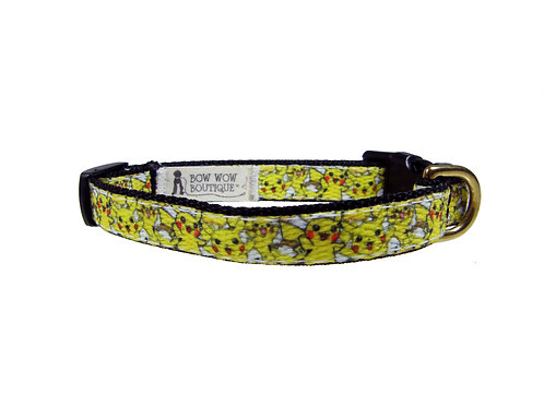 12.7mm Wide Pikachu Collar