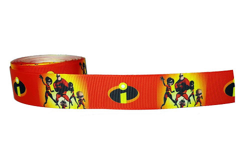 25mm Wide The Incredibles Martingale Collar