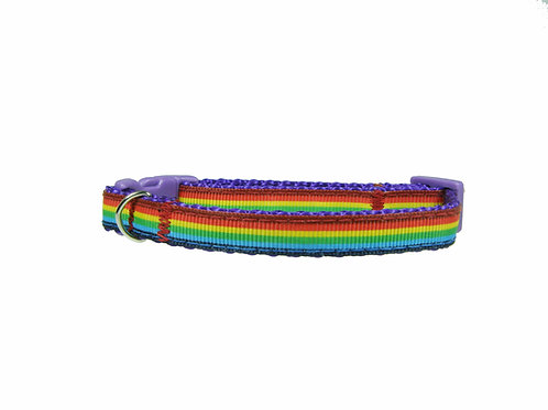 Rainbow 2nd Design Cat Collar