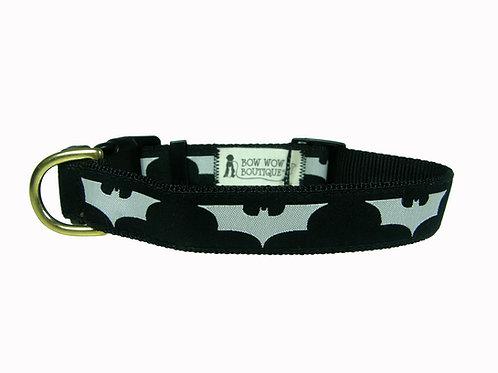 25mm Wide The Dark Knight Dog Collar