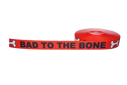 19mm Wide Bad to the Bone Double Ended Lead