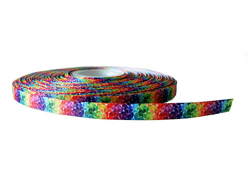 12.7mm Wide Rainbow Petals Lead