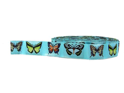 19mm Wide Butterflies Double Ended Lead