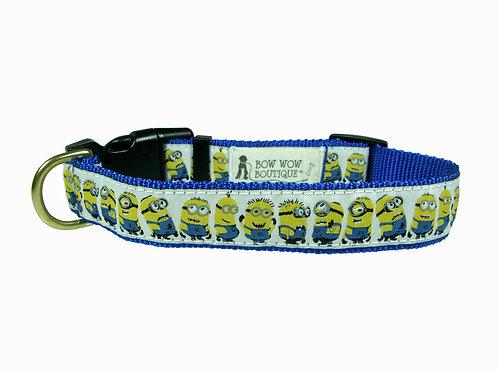 25mm Wide Minions Dog Collar