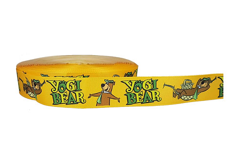 25mm Wide Yogi Bear Double Ended Lead