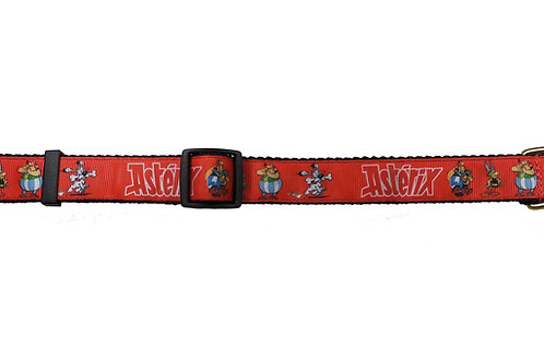 25mm Wide Asterix Dog Collar