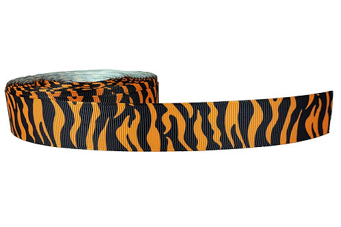 25mm Wide Orange Tiger Stripes Lead