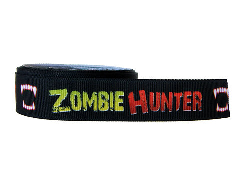 25mm Wide Zombie Hunter Martingale Collar