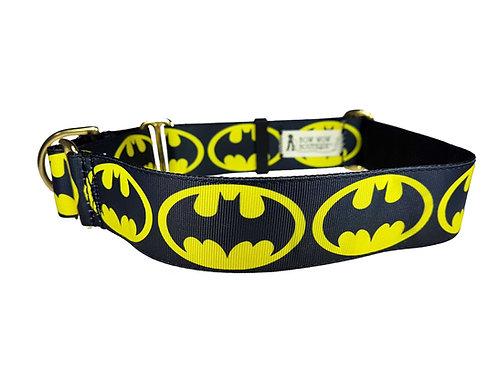38mm Wide Batman Martingale Collar