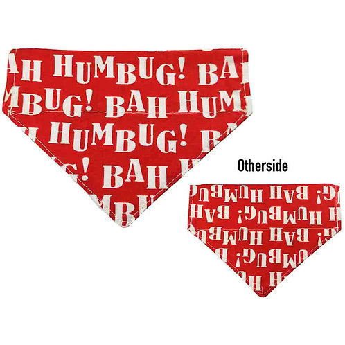 Small Bah Humbug Bandana